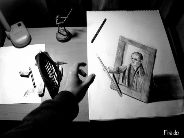 FredoART - Un blog de dessin trompe l'oeil John_Dalton__s_Gif_by_FredoART