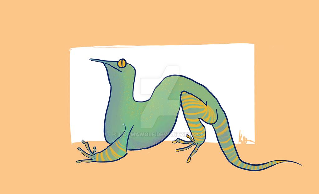 Lizard by KoomaWolf