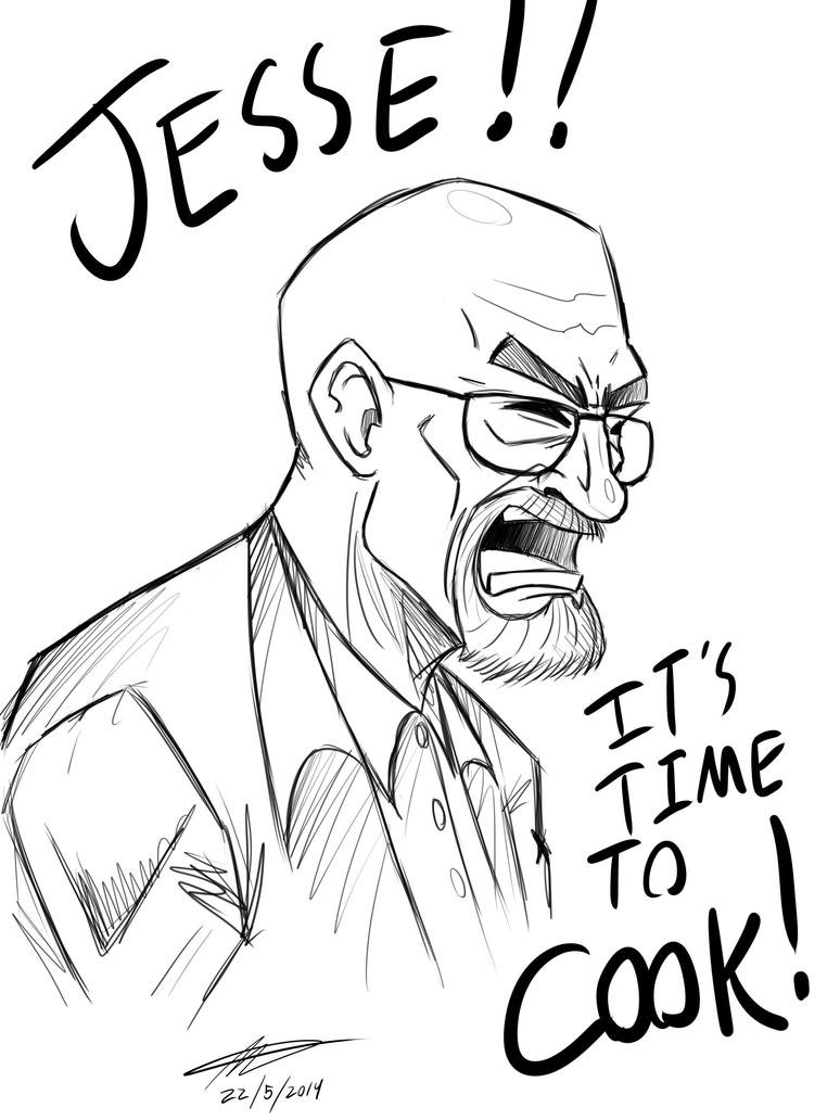 Walter White by MichaelthePure
