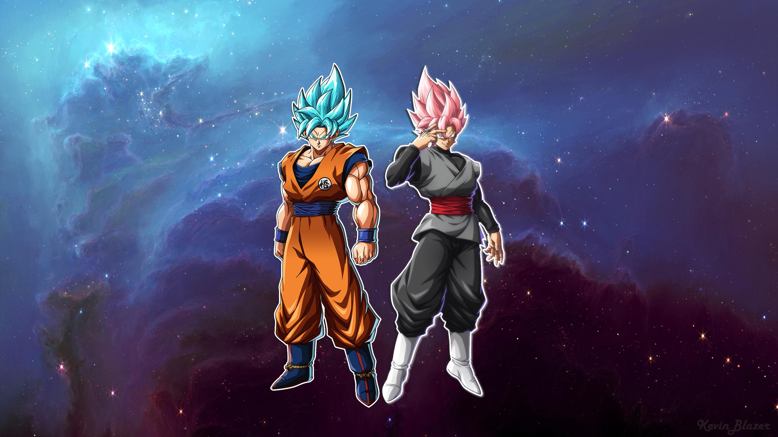 Dragon Ball Z Fighters Wallpaper Goku Vs Black By Kevinblazertm On Deviantart