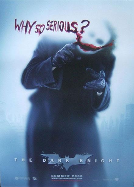 Joker...Why So Serious by kilroyart