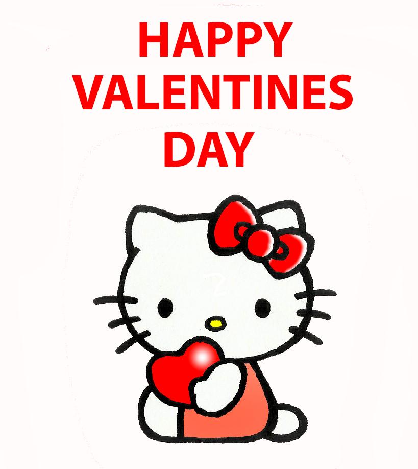 Hello Kitty Valentines By Kilroyart ...