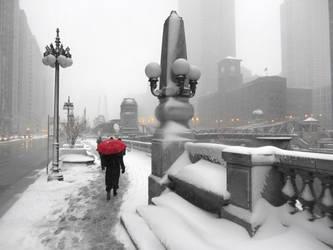 Chicago Snow Storm 4 by kilroyart