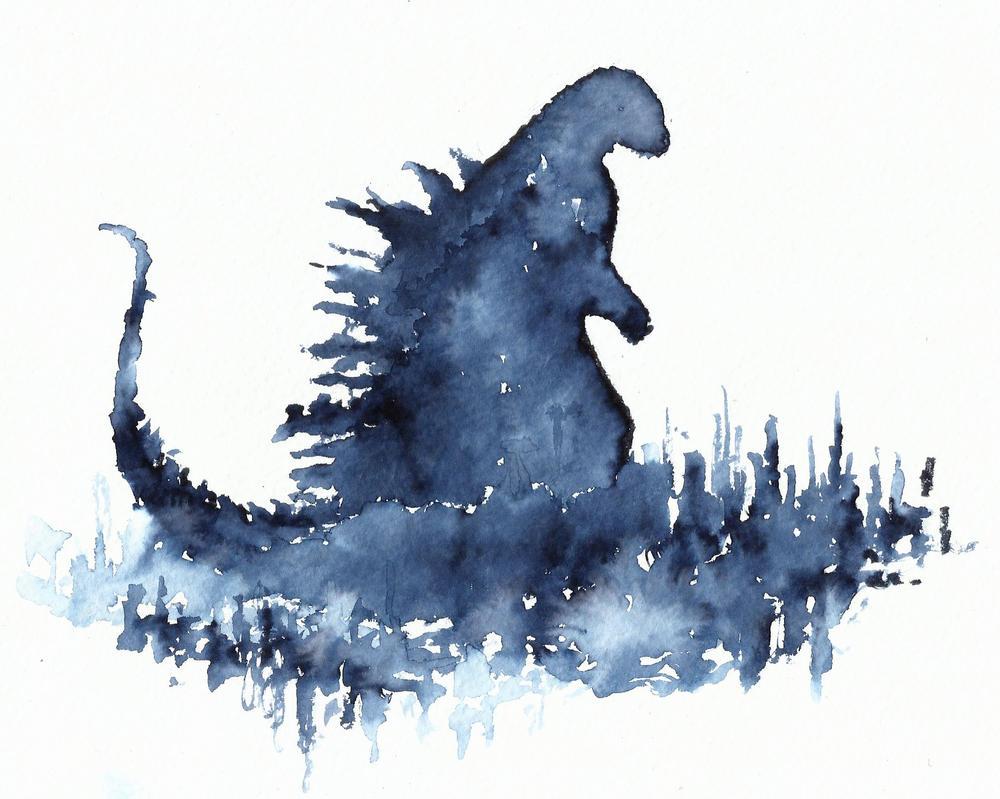 Godzilla by kilroyart