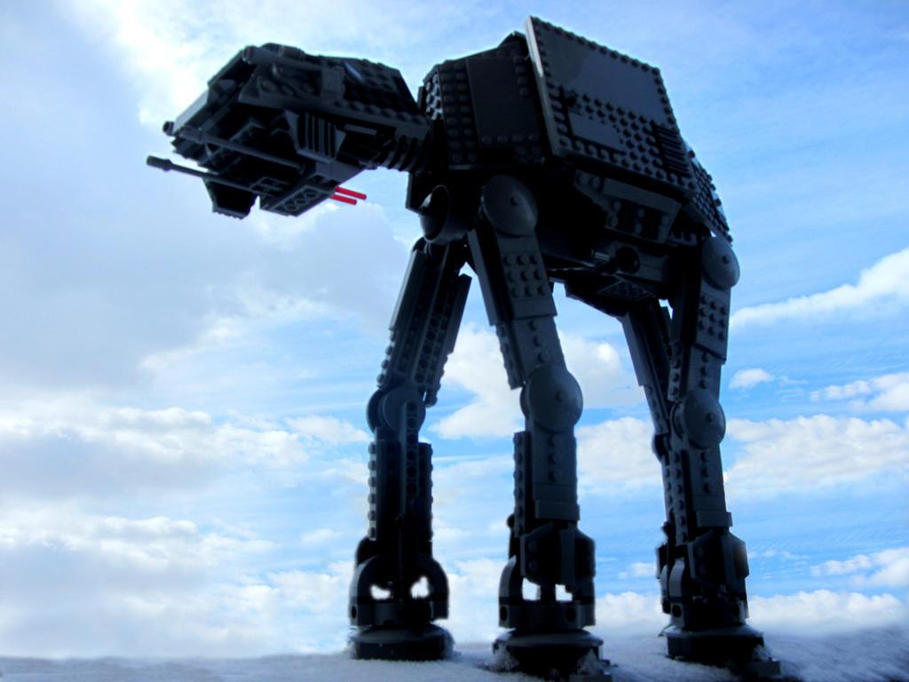 Lego AT-AT by kilroyart