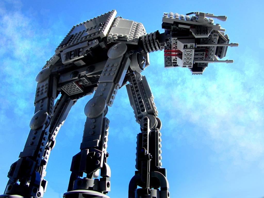 Lego AT-AT 2 by kilroyart