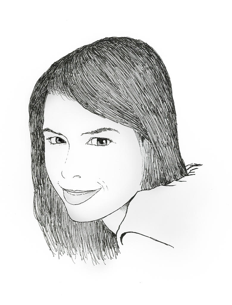 She Smiles by kilroyart
