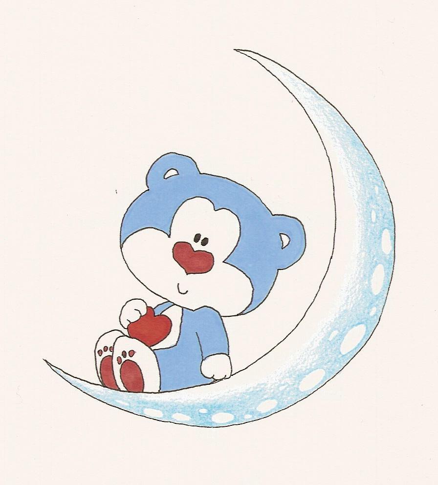 Blue bear