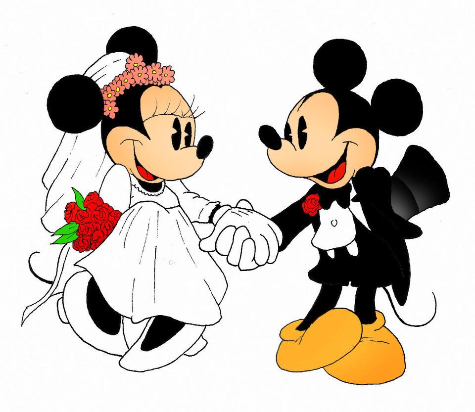 Mickey and Minnie by kilroyart