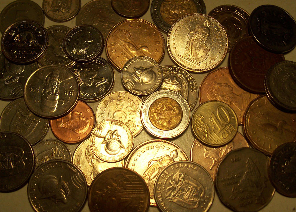Coins by kilroyart