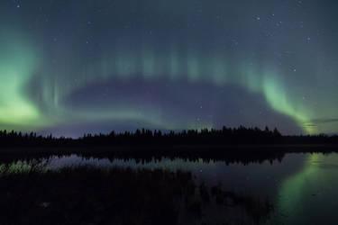 Northern lights by Antz0