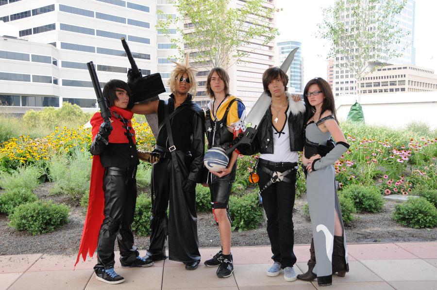 All final fantasy main characters - photo#20