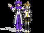 [MMD] Alex and Metal Len