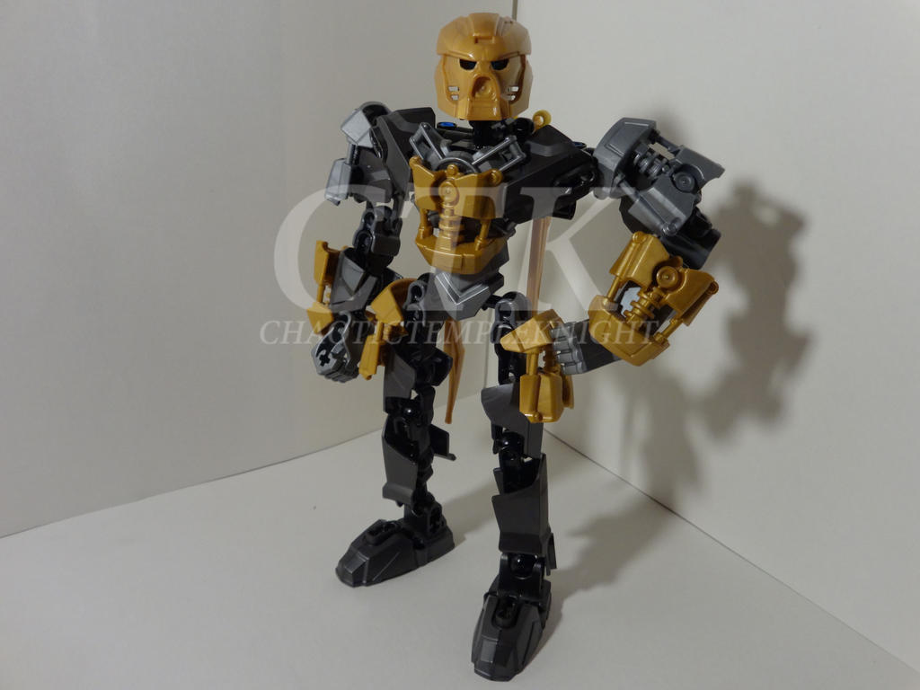 Will-ron, Master of Iron - G2 Self MOC