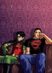 Old - Robin and Superboy