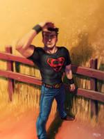 SuperBoy by Cris-Art