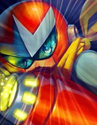 Tribute Megaman by Cris-Art