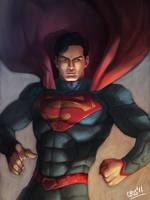 Superman by Cris-Art