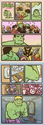 Hulk fashion