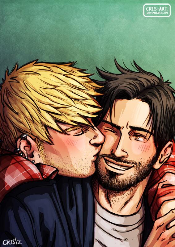 A little kiss by Cris-Art