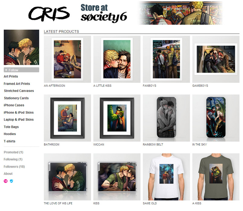 Cris Society6 store: Framed art, posters and more! by Cris-Art on ...