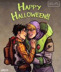 Happy Halloween!! by Cris-Art