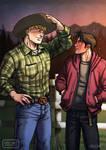 Cowboy AU