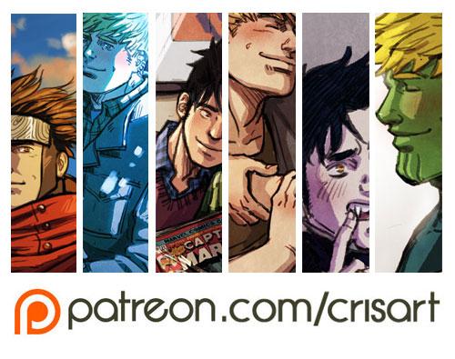 Patreon4 by Cris-Art