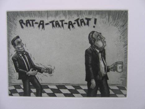 rat a tat a tat