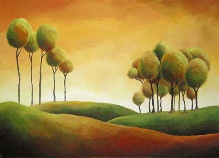 lollipop trees by Baphomiss