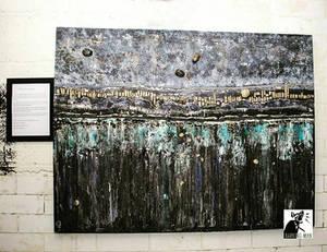 Acrylic on convas 90 x150 cm