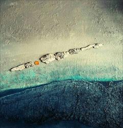 Acrylic /mixmedia on canvas 50 x 60 cm