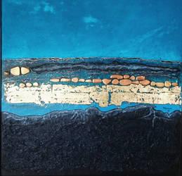 Acrylic on canvas /mixmedia 100 x 100 cm