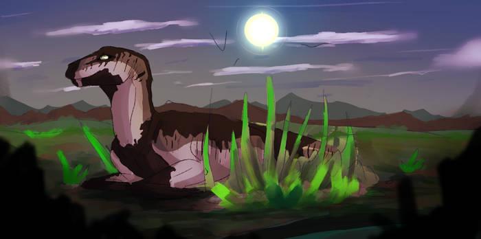Resting Dino
