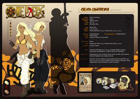 One Piece OC Profile: Sheza by furtivefriday