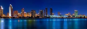 San Diego Skyline 85mm 1.4
