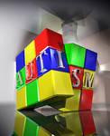 Autism Puzzle Cube