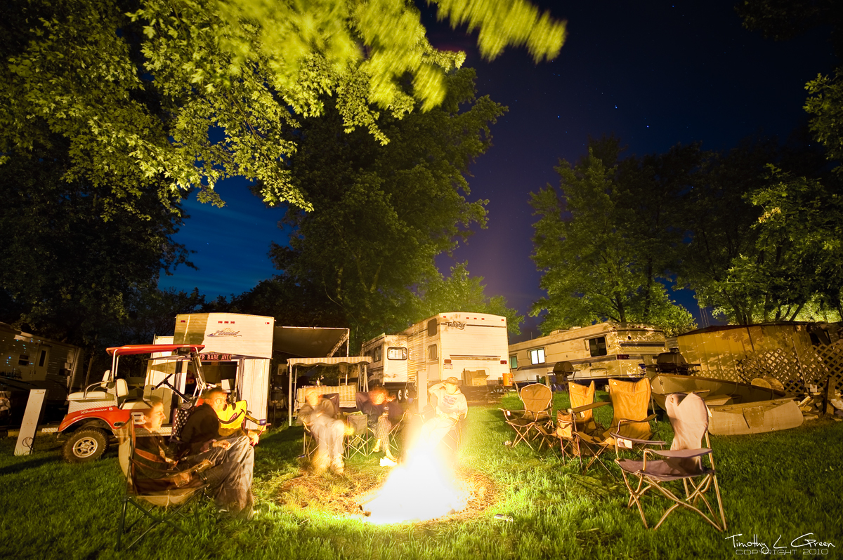 Campgrounds At Night 2 by timothylgreen on DeviantArt
