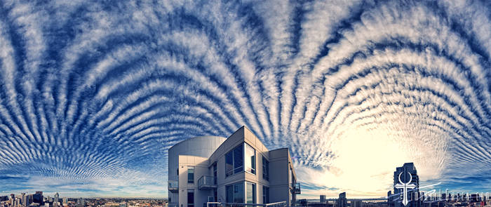 Psychedelic Skies ( Chemtrails Over San Diego )
