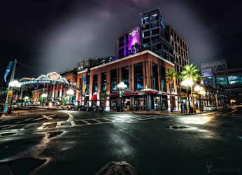 Gaslamp District San Diego - Nightlife by timothylgreen