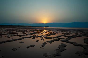 Sunrise above the Sea of Death