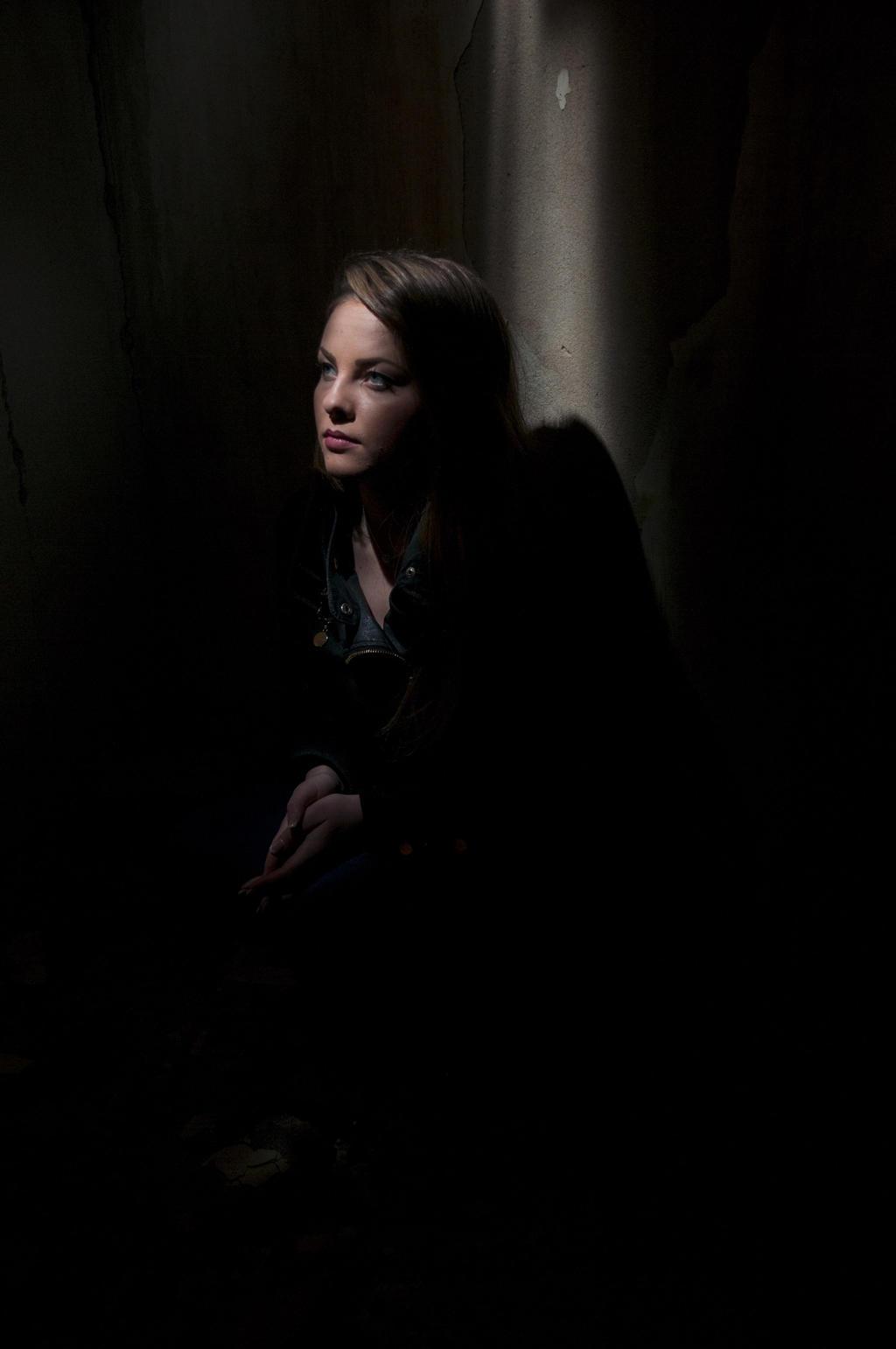 Beauty in a dark corner