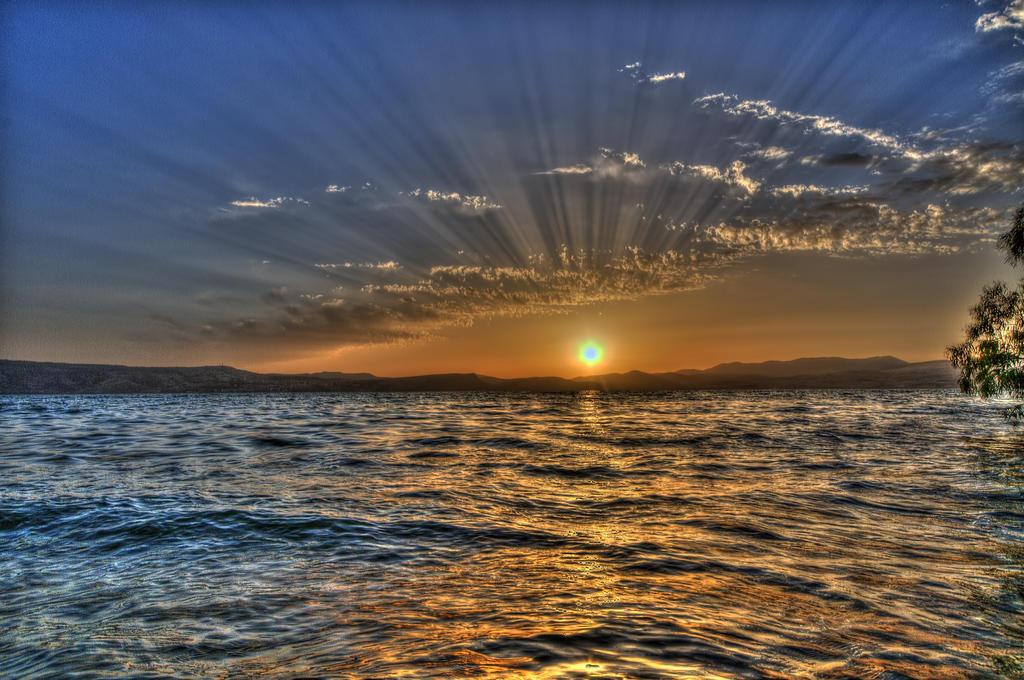 Sea of Galilee by haimohayon