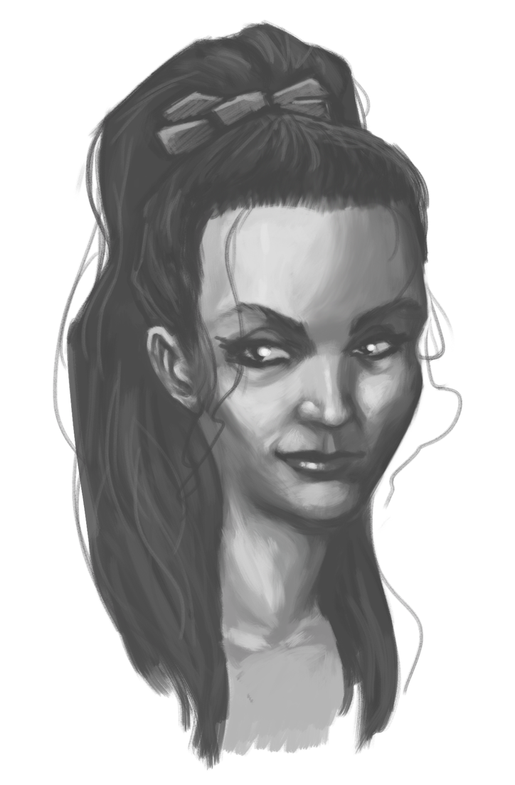 Portrait Practice by Some1Silly
