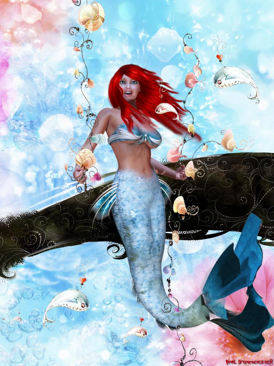 The Little Mermaid by MrSynnerster