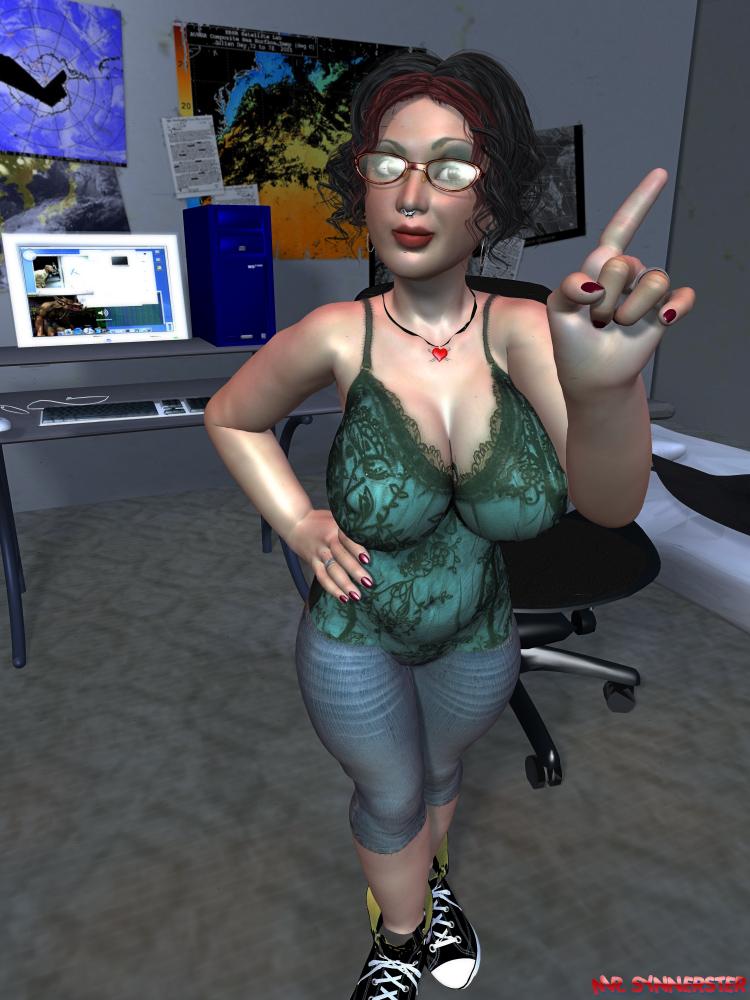 Hacker Chick by MrSynnerster