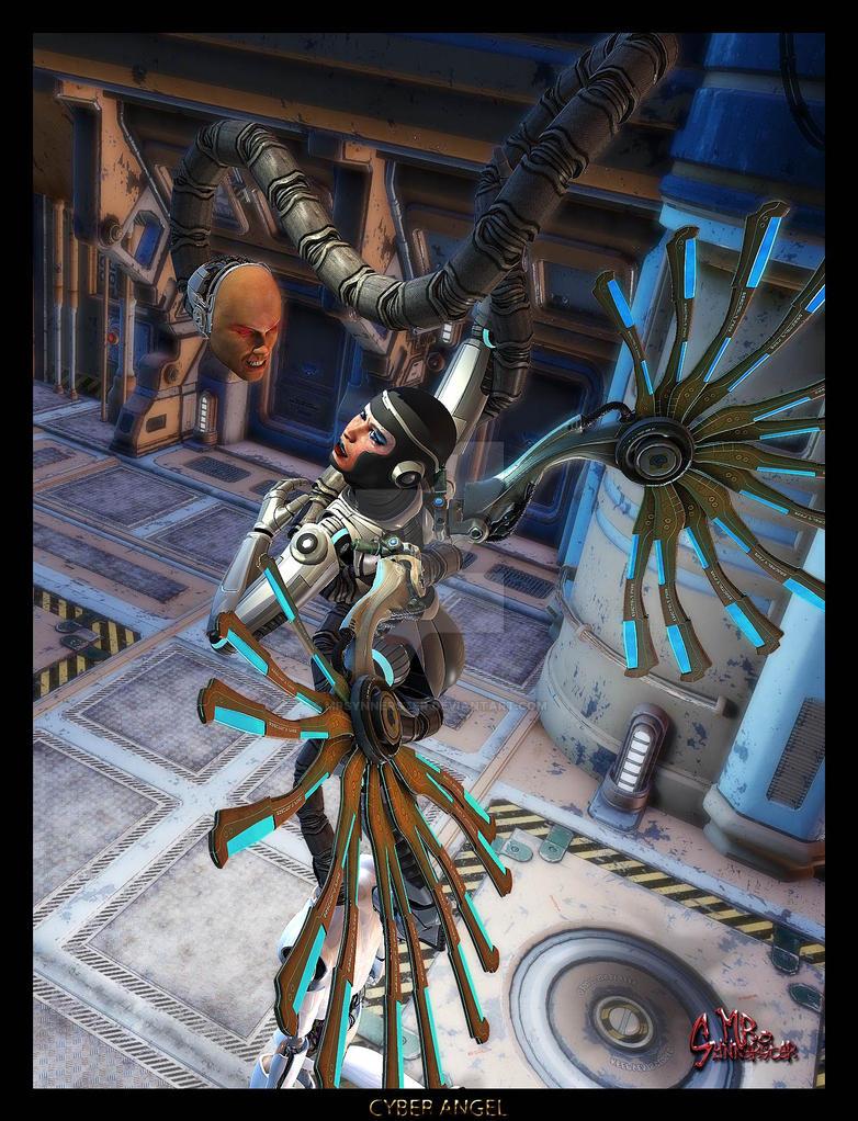 Cyber Angel by MrSynnerster