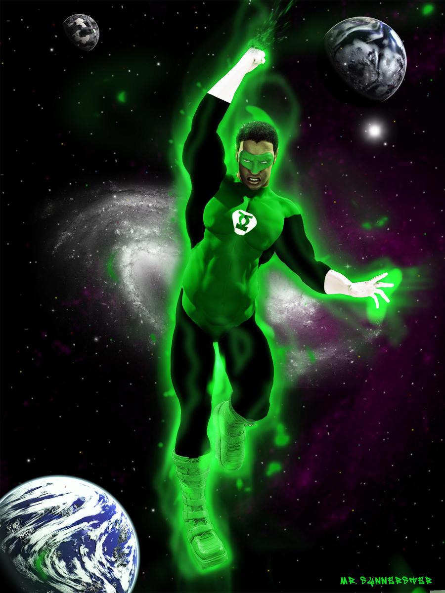 Green Lantern by MrSynnerster