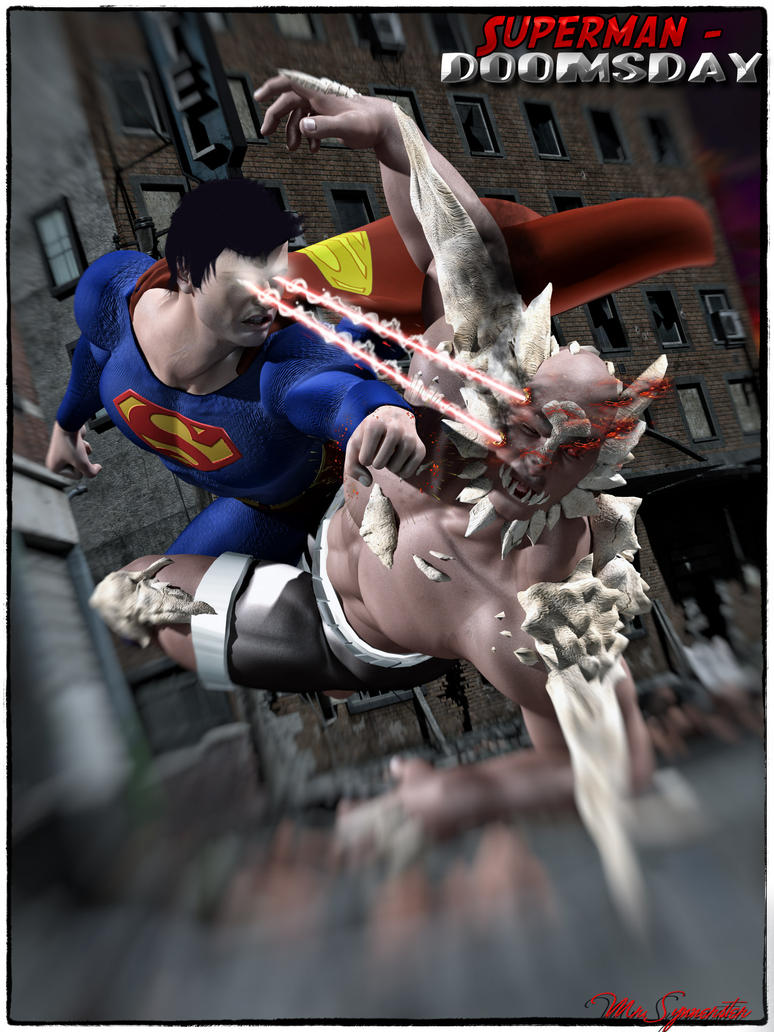 Superman-Doomsday by MrSynnerster