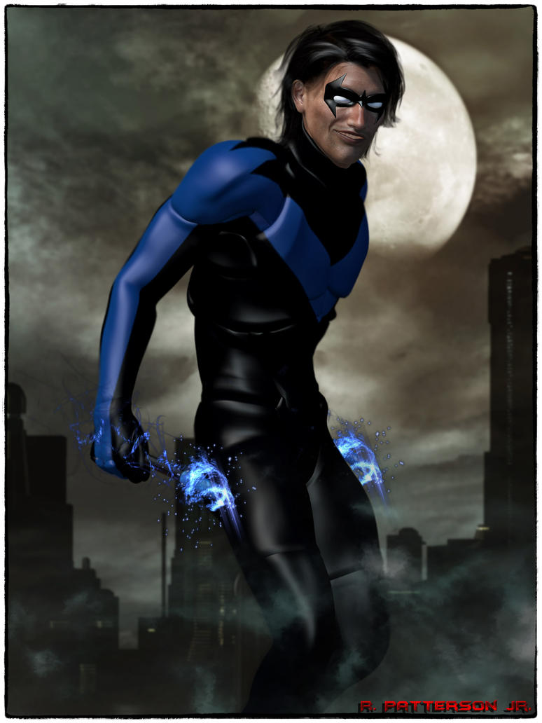 Nightwing by MrSynnerster